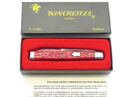 1997 WINCHESTER 2982 CLASSIC DOCTOR PHYSICIAN BONE FOLDING KNIFE & CASE