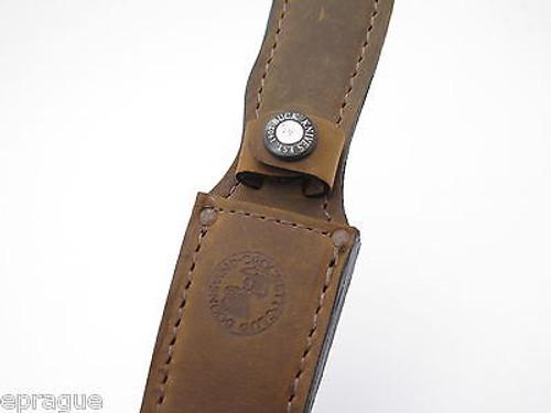 BUCK 580 583 BONING KNIFE ERGO HUNTER LEATHER FIXED BLADE KNIFE SHEATH BLEMISH