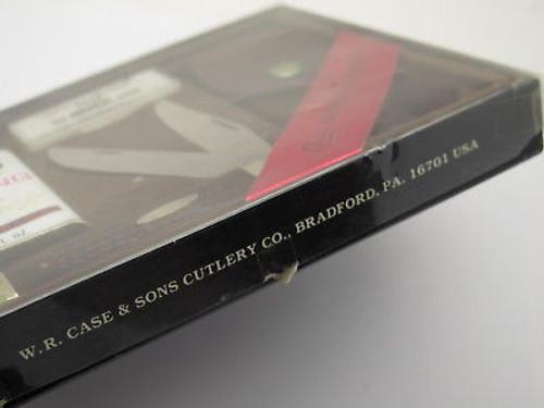 Vtg 1980 Case XX 268 Set 6265 Folding Hunter Knife 10 Dot Oil Stone Sheath & Box