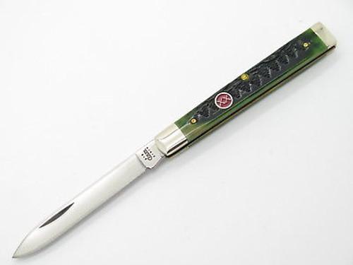 LIMITED CASE XX 6185 EVERGREEN TREE GREEN BONE DOCTOR FOLDING POCKET KNIFE
