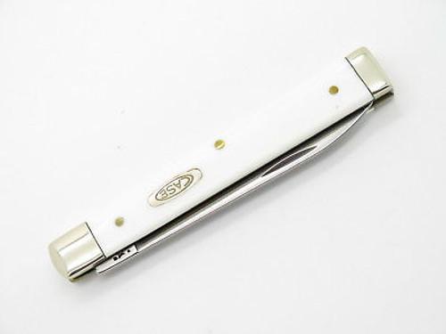 Case XX 4185 White Delrin Doctor Folding Pocket Knife