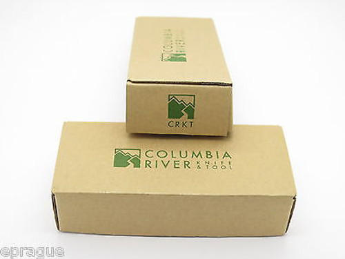 LOT of 2 CRKT COLUMBIA RIVER KNIFE BOX for FOLDING HUNTER POCKET KNIFE