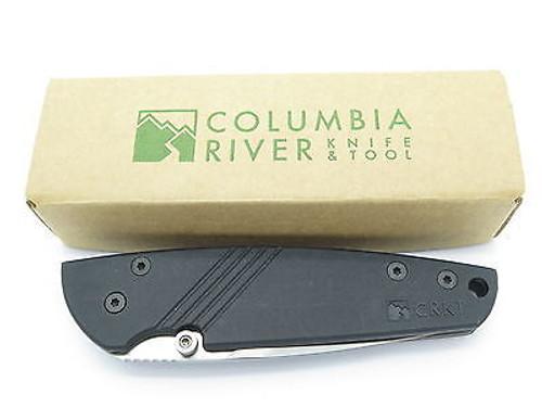Columbia River CRKT 6723 Mirage Large Linerlock Folding Knife Vtg AUS6 Serrated
