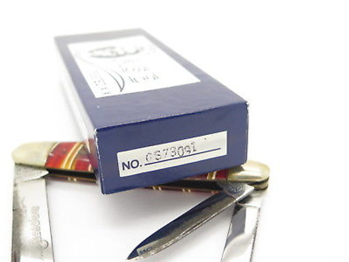 Candy Stripe Case Classic Tested XX 73091 Folding Whittler Knife