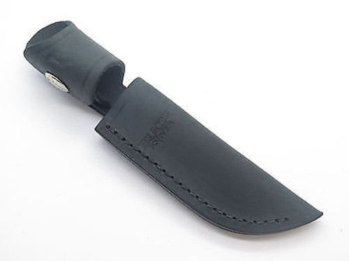 Buck 102 Woodsman Black Distressed Leather Fixed Blade Knife Sheath