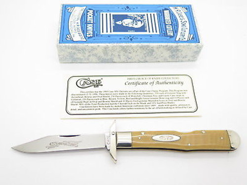 Case Classic XX 71011 1/2 Cheetah Waterfall Swing Guard Folding Knife