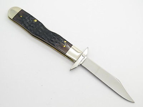2003 Case Tested XX 6111 1/2 Cheetah Midnight Swing Guard Folding Knife