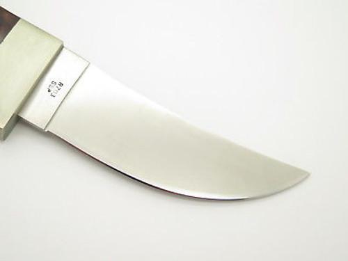 Vtg 1980 Case XX R703 Kiowa Fixed Blade Hunting Knife 10 Dot N.mint