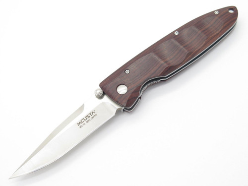 MCUSTA SEKI JAPAN BASIC MC-0014R ROSEWOOD & VG-10 LINERLOCK FOLDING POCKET KNIFE