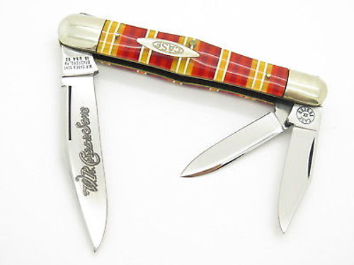 CANDY STRIPE CASE CLASSIC TESTED XX 73083 WHITTLER FOLDING POCKET KNIFE MINT