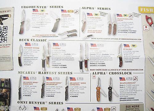 Consumer Guide Buck Knives 50th Anniversary Flyer 110 Folding Hunter 119 401 112