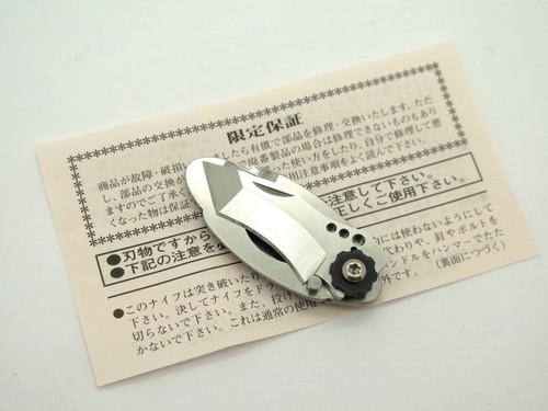 G. Sakai Seki Japan Samurai VG-10 Tanto Money Clip Small Folding Pocket Knife