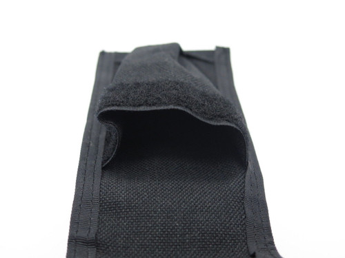 "Black Nylon Sheath for Large 5"" Folding Hunter Tool Knife Magazine Pouch"