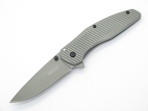 KERSHAW KAI 1320 LARGE TITANIUM COATED FOLDING FRAMELOCK POCKET KNIFE ASSISTED