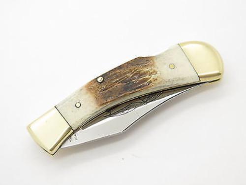Parker Eagle Brand K-542 Seki Japan Folding Pocket Knife By Imai