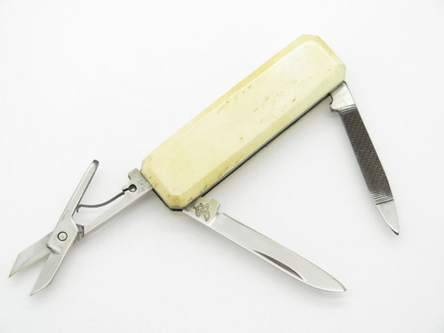 FROST CUTLERY SEKI JAPAN SMALL LOBSTER BONE FOLDING POCKET KNIFE