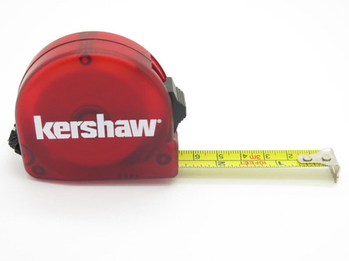 KERSHAW KNIVES KAI 1321 RED TAPE MEASURE TOOL 10 FT 3 M for VINTAGE TG COLLECTION & NEW