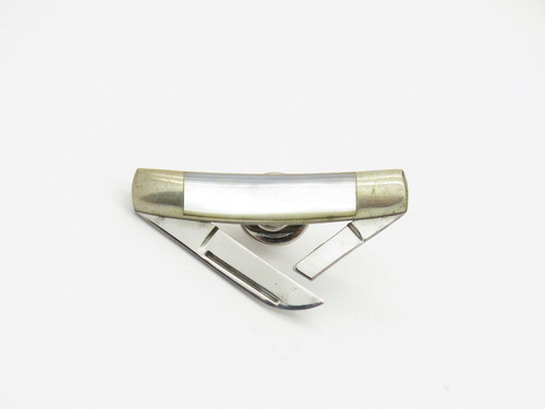 Vtg Parker Eagle Seki Japan Tie Tack Hat Pin Miniature Folding Pocket Knife