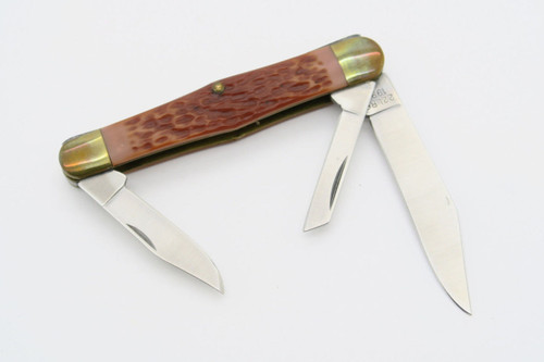 Vtg Camillus USA Rimfire Classic 22LR6 22 LR Folding Pocket Knife