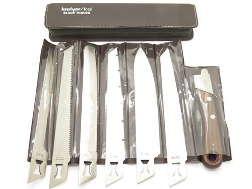 Vtg Kershaw Kai 1099 Seki Japan 6 Blade Trader Kitchen Fillet Fishing Camp Knife