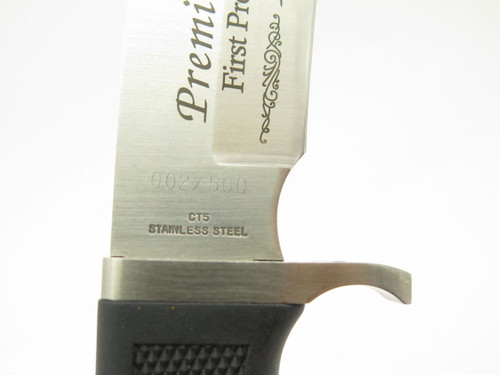 Sn: 002/500 Vtg Colt USA CT5 First Production Premier Fixed Blade Hunting Knife