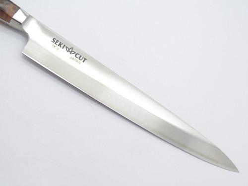 Vtg Seki Cut 184 Sanetsu Japan Sashimi Fixed Blade Knife Sushi Kitchen Cutlery