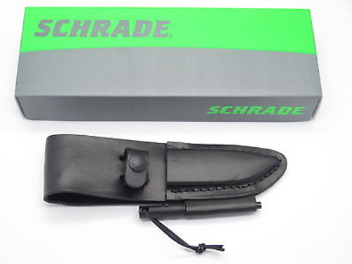 """SCHRADE LS56 LEATHER FIXED 3.5"""" BLADE HUNTING KNIFE SHEATH for F56M SM FRONTIER"""