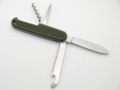 Victorinox Switzerland German Soldier Folding Swiss Army Folding Surplus Knife C