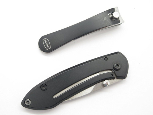BUCK 325 COLLEAGUE KNIFE & NAIL CLIPPER GIFT SET STAINLESS STEEL FRAMELOCK SMALL