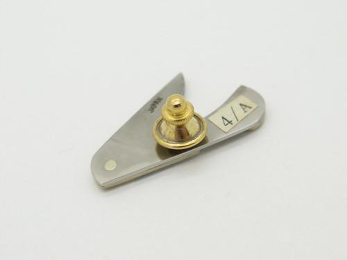 Vintage Parker Eagle Seki Japan Tie Tack Hat Pin Miniature Folding Pocket Knife H
