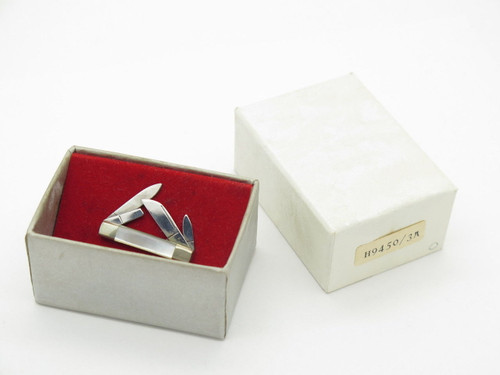 Vtg Parker Eagle Seki Japan Tie Tack Hat Pin Congress Miniature Folding Pocket Knife