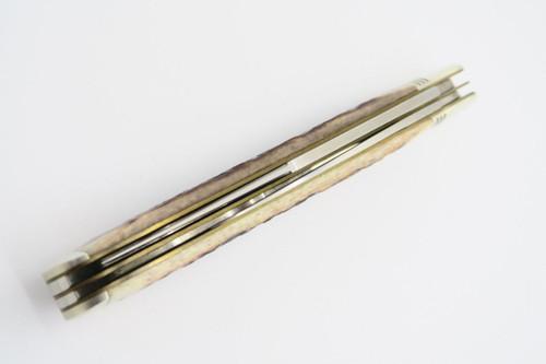 Vtg Camillus USA CCC-4 Cartridge 257 Roberts Bullet Trapper Folding Pocket Knife