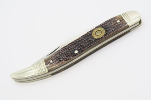 VINTAGE CAMILLUS USA CCC-3 CARTRIDGE 7MM MAUSER TOOTHPICK FOLDING POCKET KNIFE
