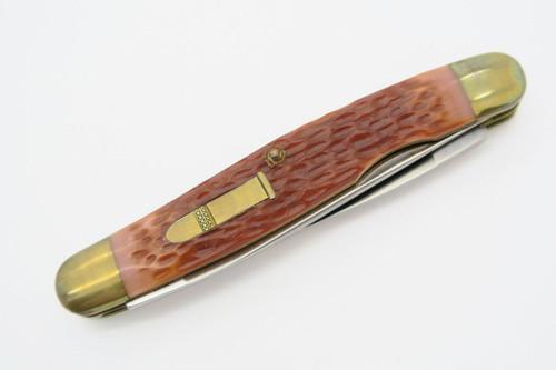 Vtg Camillus USA Rimfire Classic 22LR4 22 LR Folding Pocket Knife