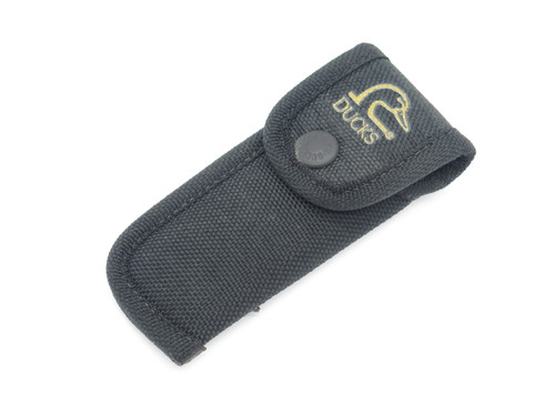 Buck 112 422 Hunter Black Nylon Knife Sheath Ducks Unlimited