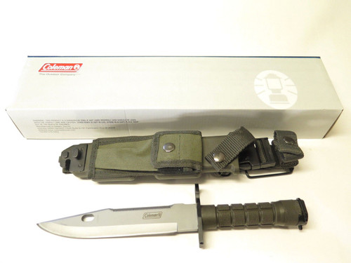 Coleman M9C-2020 Bayonet Survival Rambo Fixed Blade Hunting Combat Bowie Knife
