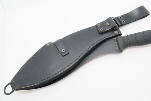 Vintage Ka-bar 1249 Taiwan Kukri Bolo Machete Bowie Hunting Camping Survival Knife