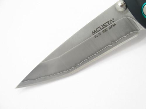 MCUSTA MC-0044C KATANA SERIES SEKI JAPAN GREEN TANTO VG-10 FOLDING POCKET KNIFE