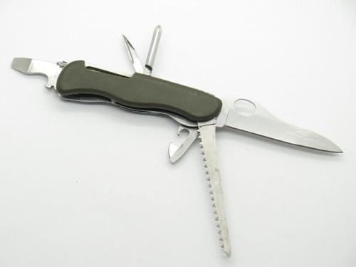 Victorinox Switzerland Trekker German Soldier Folding Swiss Army Survival Knife