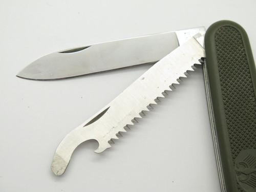 Victorinox Switzerland German Soldier Folding Swiss Army Folding Survival Knife