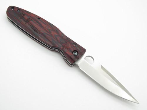 Mcusta Seki Japan Leyasu MC-183 Red Shogun VG-10 Folder Folding Hunter Knife