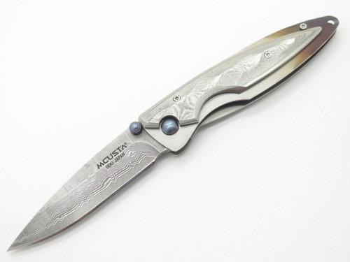 Mcusta Seki Japan Kasumi MC-31D VG-10 Damascus Gentleman Folding Pocket Knife