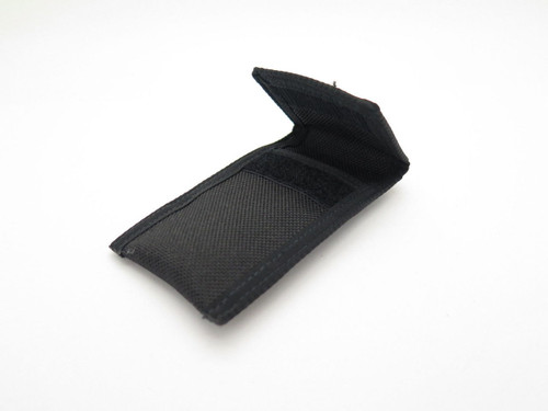 "Mcusta 4"" Folding Custom Pocket Knife Black Nylon Sheath"