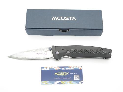 Mcusta Seki Japan MC161D Black Japanese Bushi Sword VG-10 Damascus Folding Knife