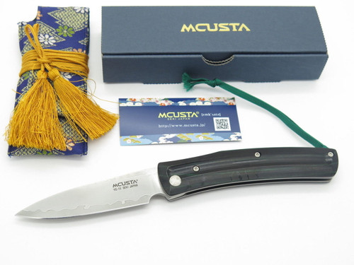 Mcusta Seki Japan Higonokami MC-193C VG-10 San Mai Higo Friction Folder Knife
