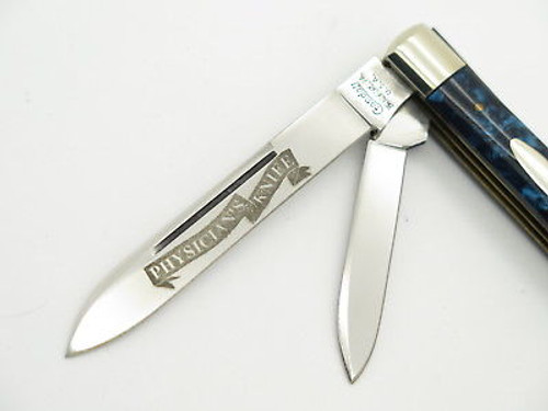 1996 CRANDALL CASE XX CLASSIC BLUE DOCTOR PHYSICIANS FOLDING POCKET KNIFE