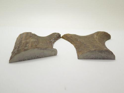 USA 4 x 3.5 Elk Stag Antler Knife Making Handle Scale Pistol Grip Blank Slab