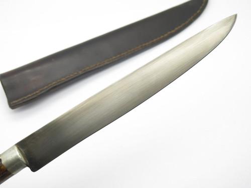 Swamp Fox USA Stag Custom Handmade French War Mountain Man Bowie Fixed Knife