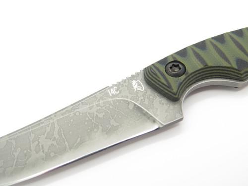 Kiku Matsuda KM-810 Momosegawa Seki Japan Custom Fixed Camp Hunting Neck Knife
