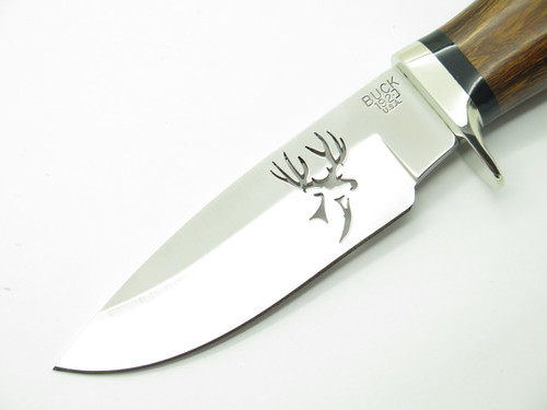 Custom Buck 192 Vanguard Deer Cutout 420HC Ironwood Fixed Blade Hunting Knife